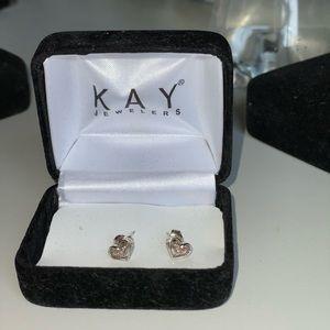 Kay Diamond Heart Earrings